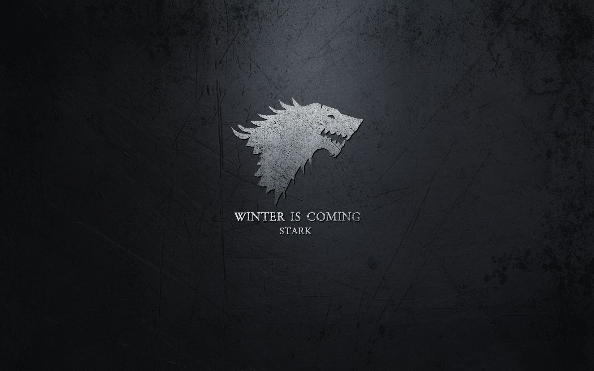 Winter Is Coming House Stark Desktop Wallpaper 1920x1200