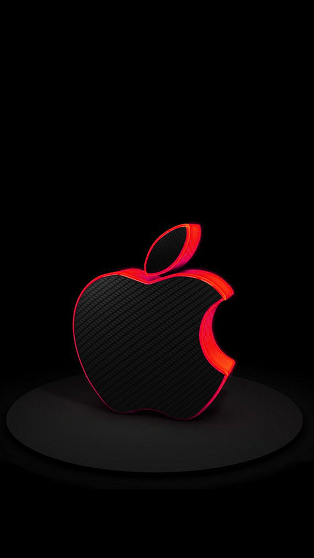 Red Carbon Fiber Apple Apple iPhone 5s hd wallpapers available for 640x1136