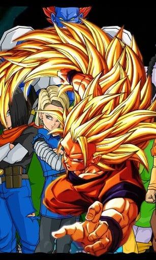 Goku Live Wallpaper Apps Android Market HD4Wallpapernet 307x512