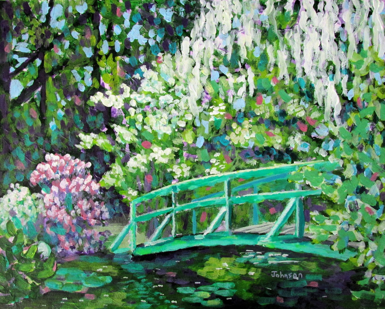Painting Claude Monet   Virginia wallpapers and images   wallpapers 1600x1285