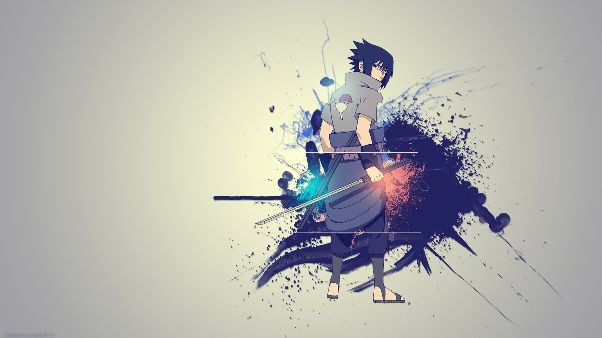 Uchiha Sasuke Naruto Shippuden Wallpaper 1920x1080