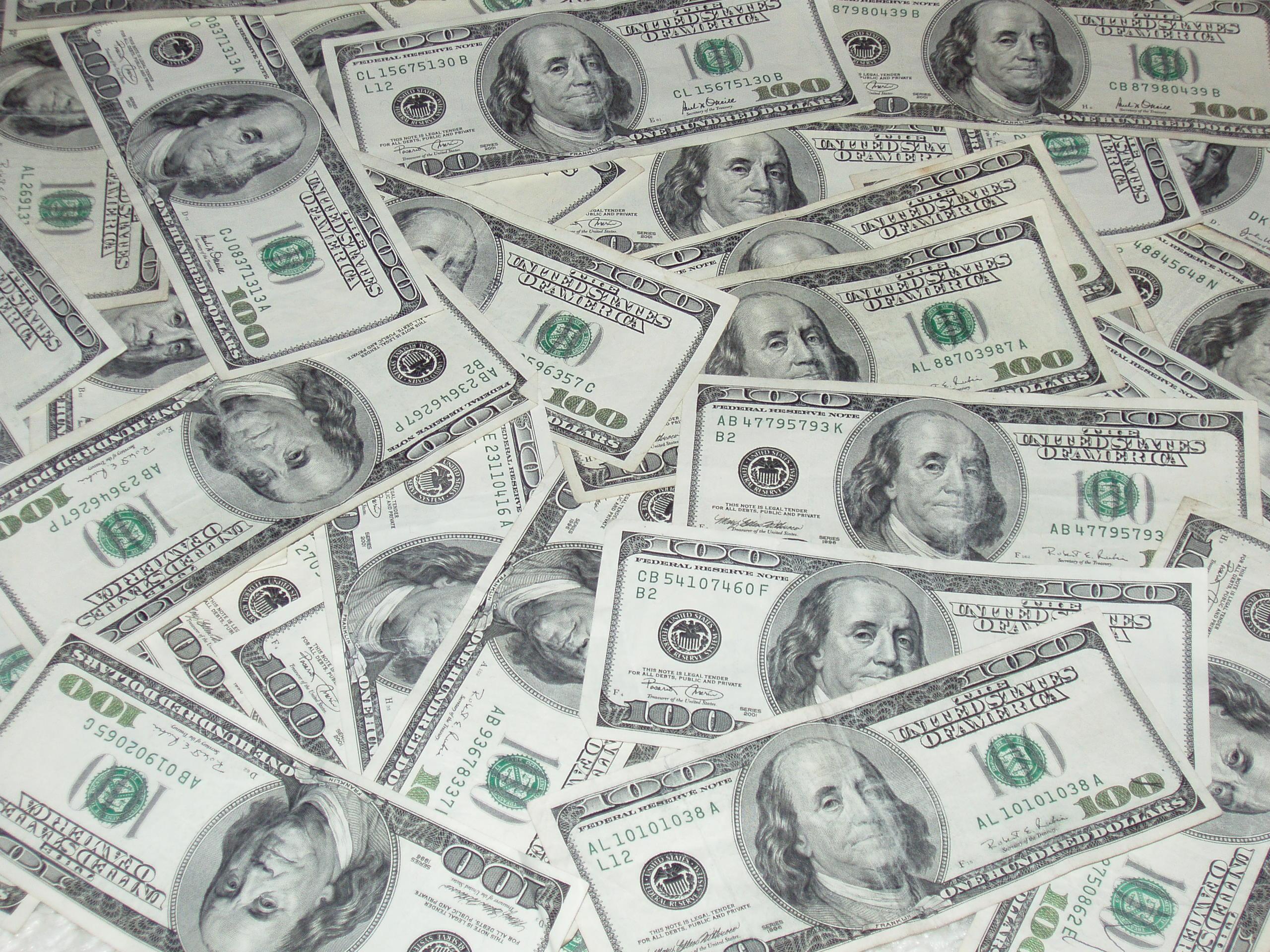 100 Dollar Bill Wallpaper