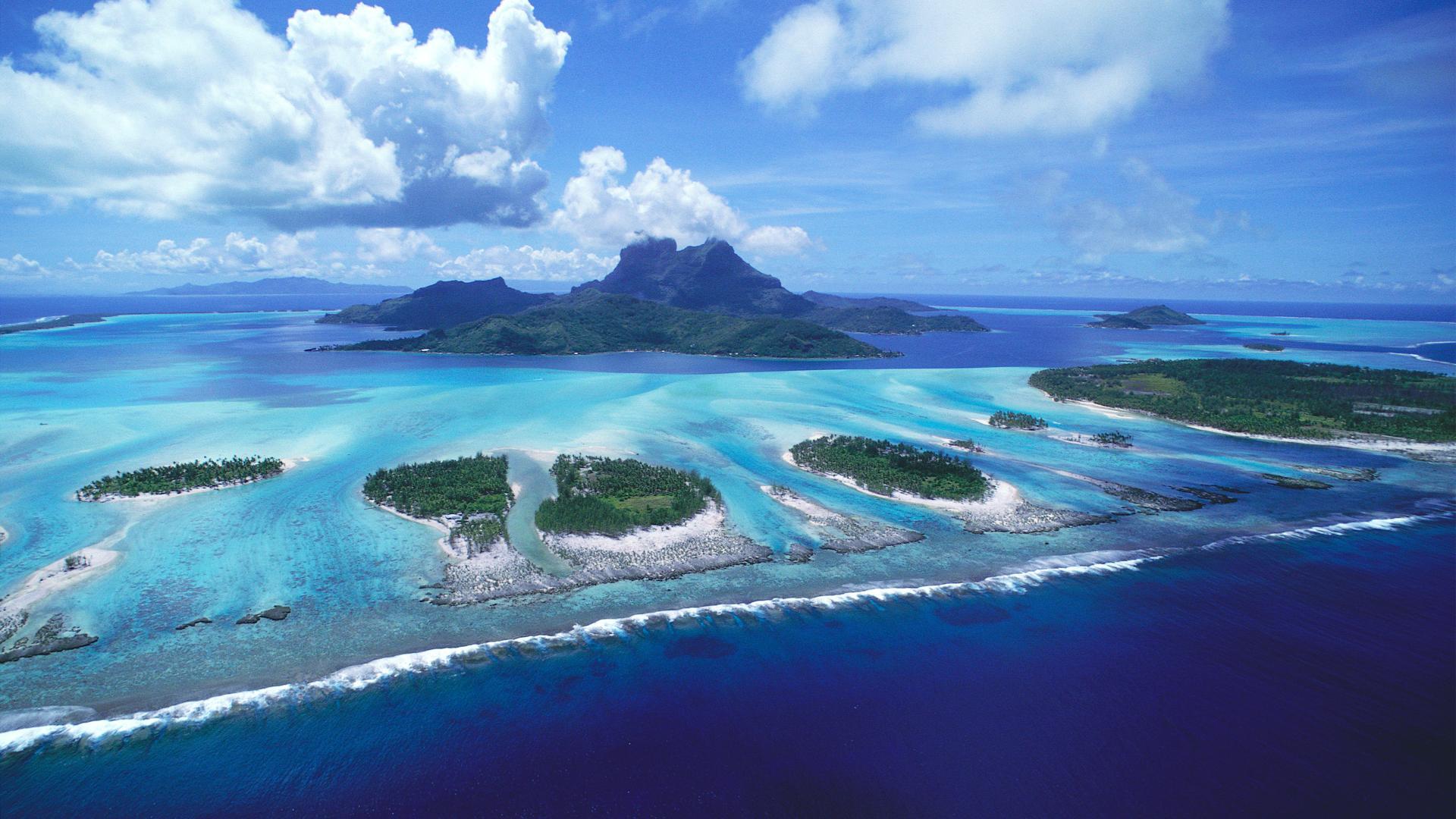 Bora Bora Beach Stunning Wallpaper   Travel HD Wallpapers 1920x1080