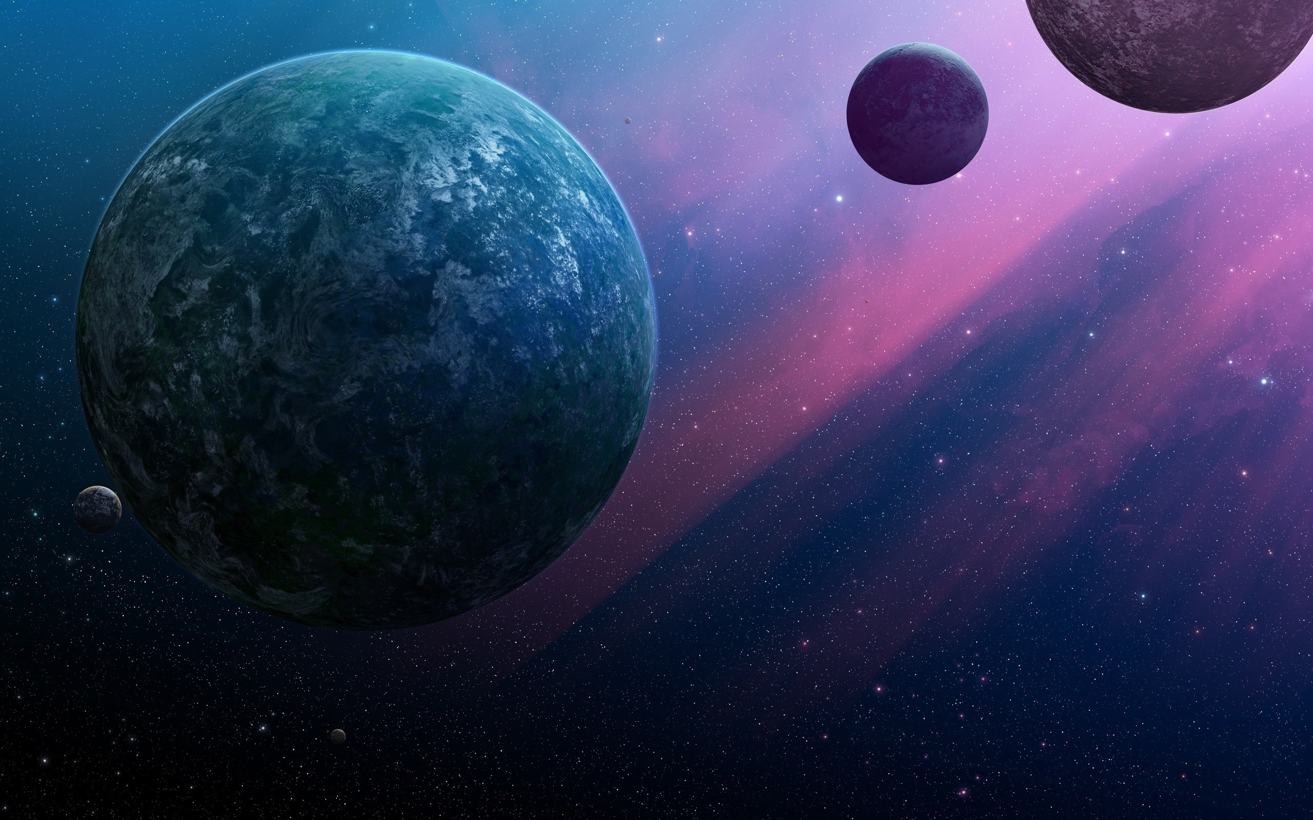 wallpaper outer space planets joejesus josef barton categories space 2560x1600