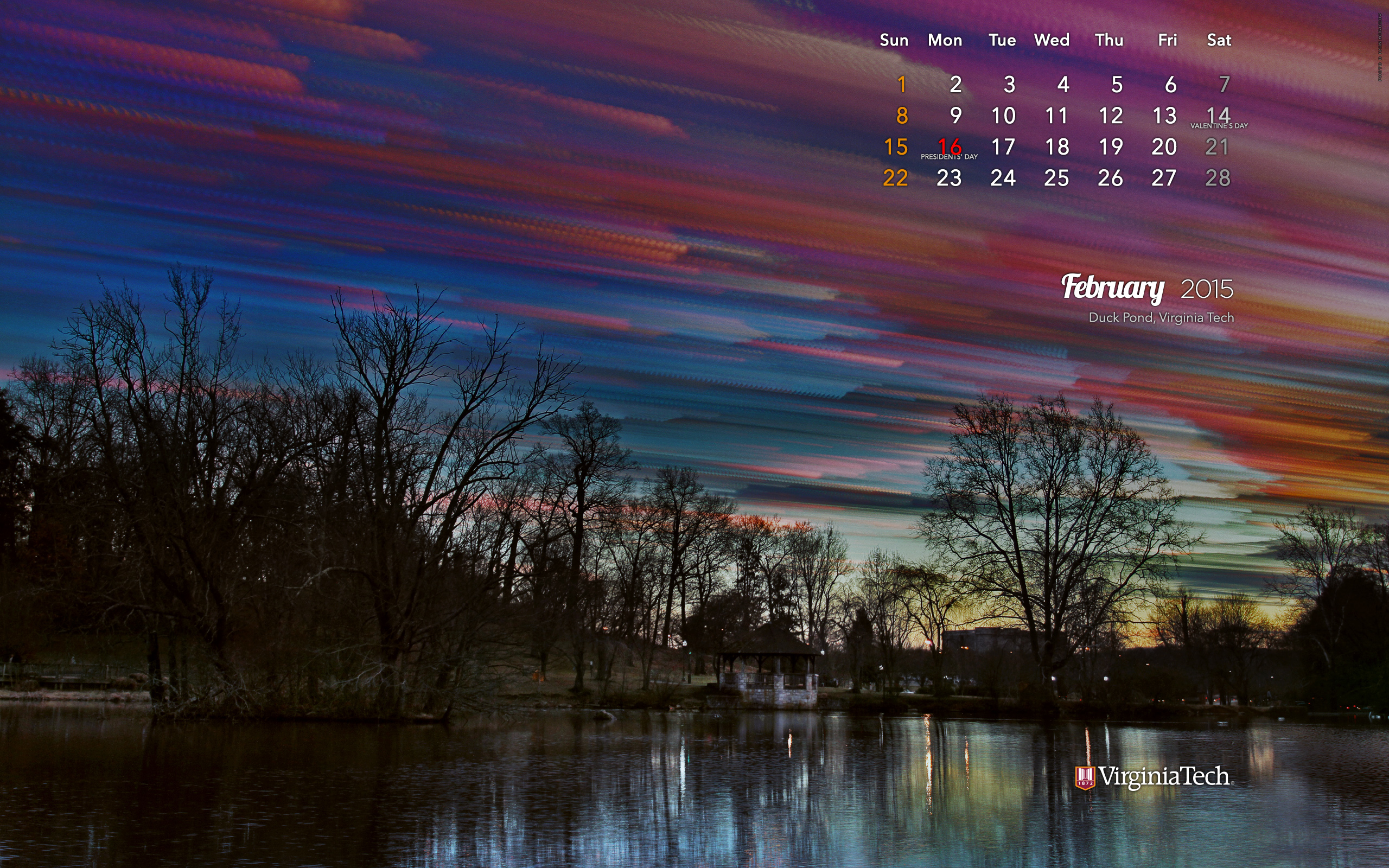 Ivan Morozov Calendar Wallpaper February 2015 2560x1600