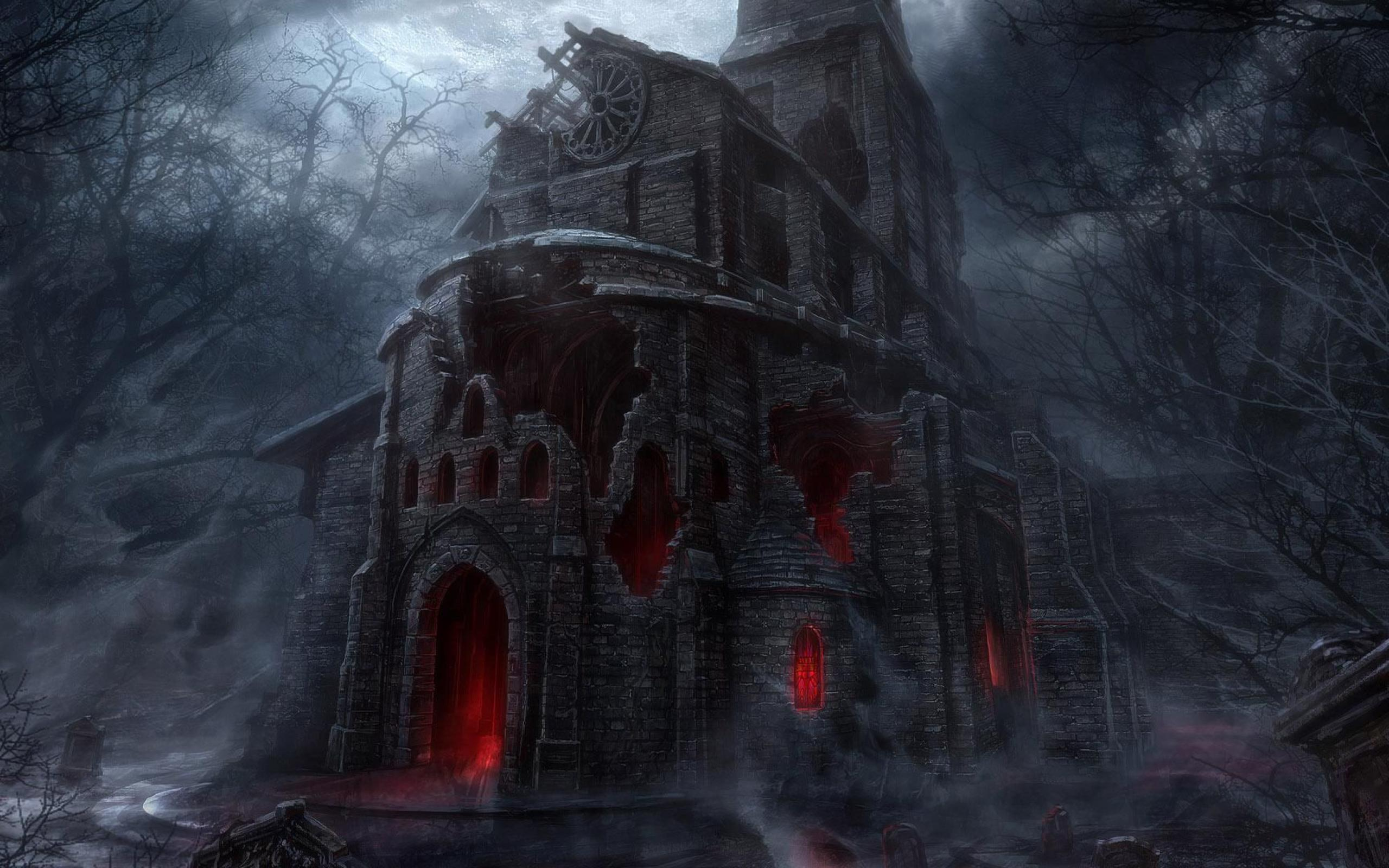 HQ Horror Background 2560x1600 2560x1600