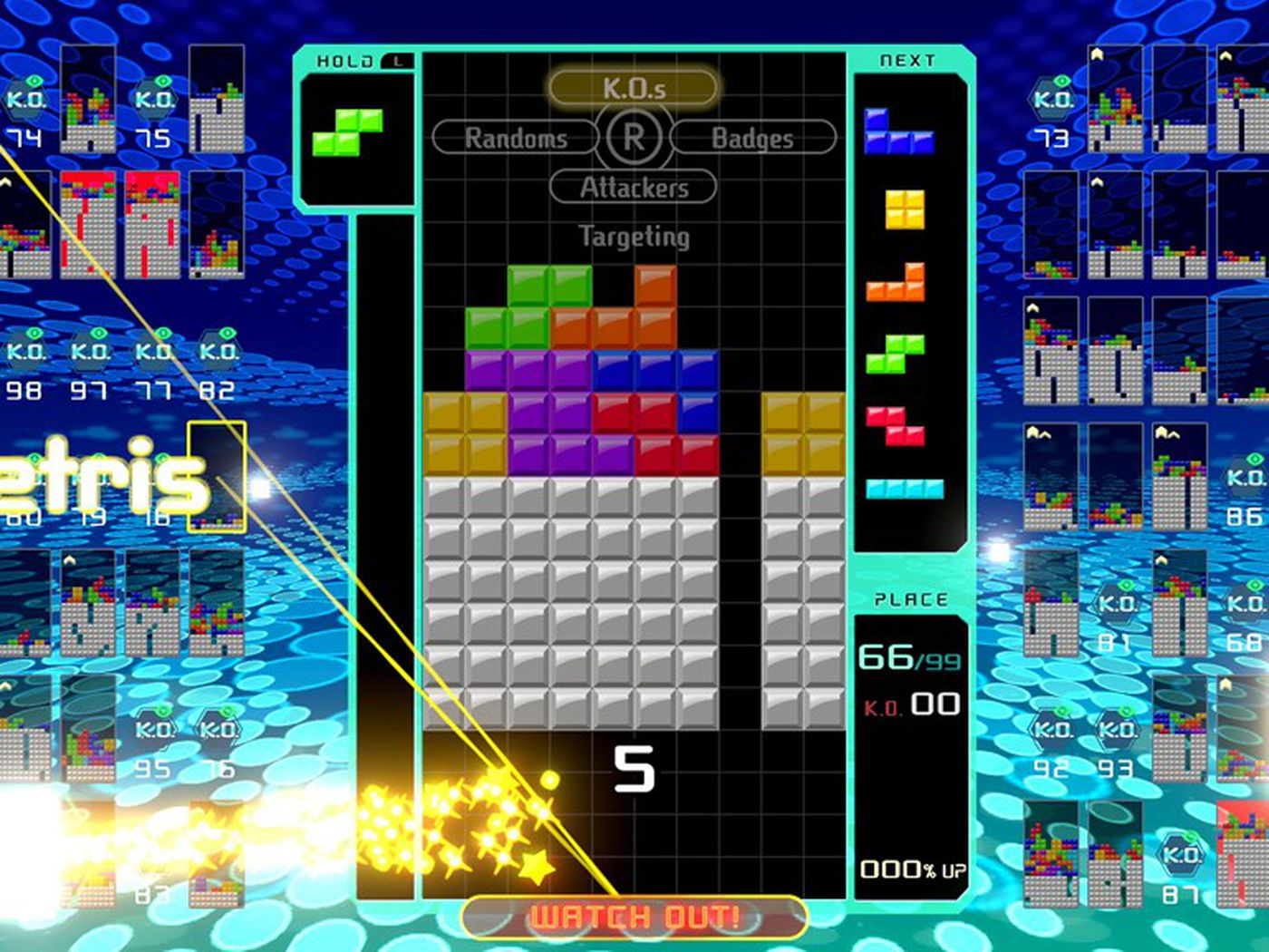 Tetris 99 is the opposite of Tetris Effect and its amazing   The 1400x1050