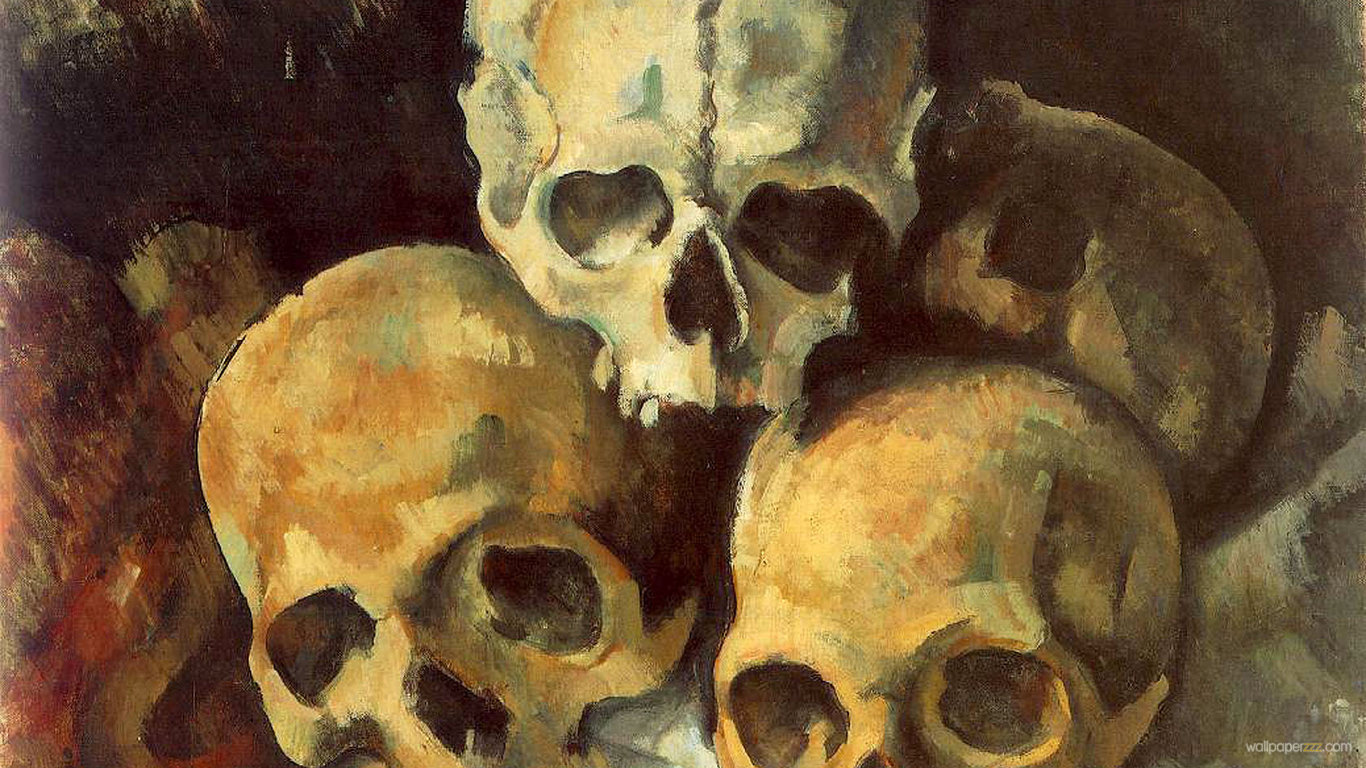 Download Three Skulls HD Wallpaper Wallpaper 1366x768