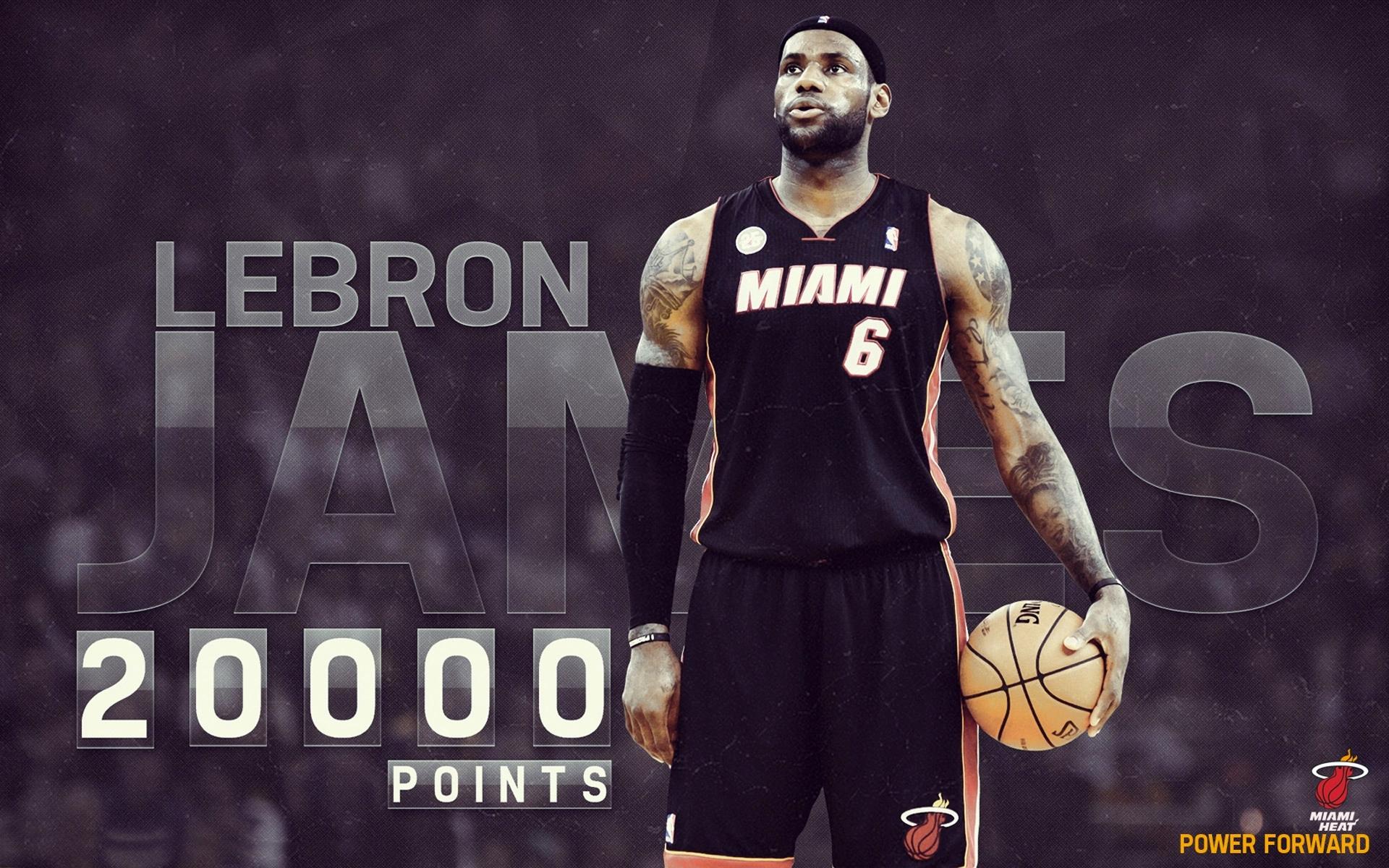 LeBron James NBA Basketball Player Sports Miami Heat Ball Tattoos 1920x1200