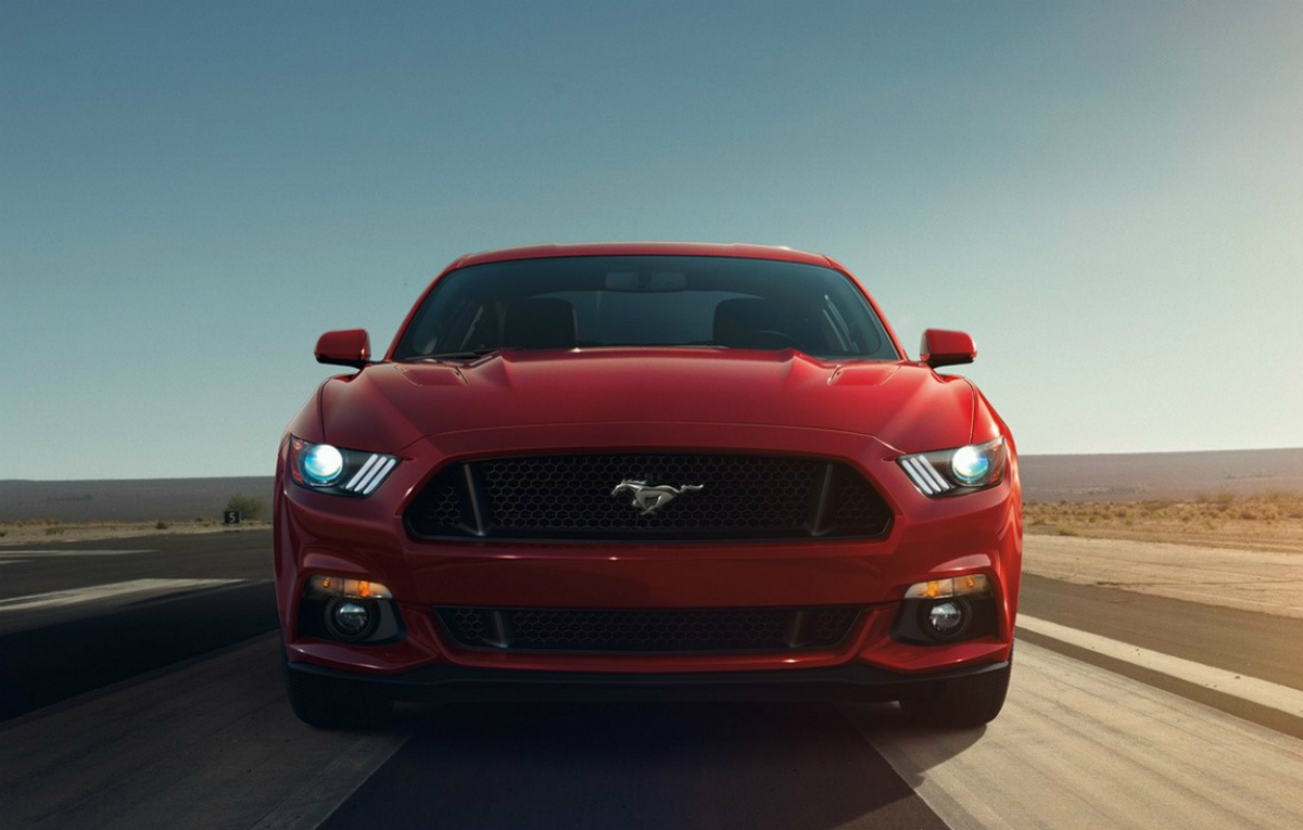 2015 Ford Mustang Front Wallpaper   HD 1200x765