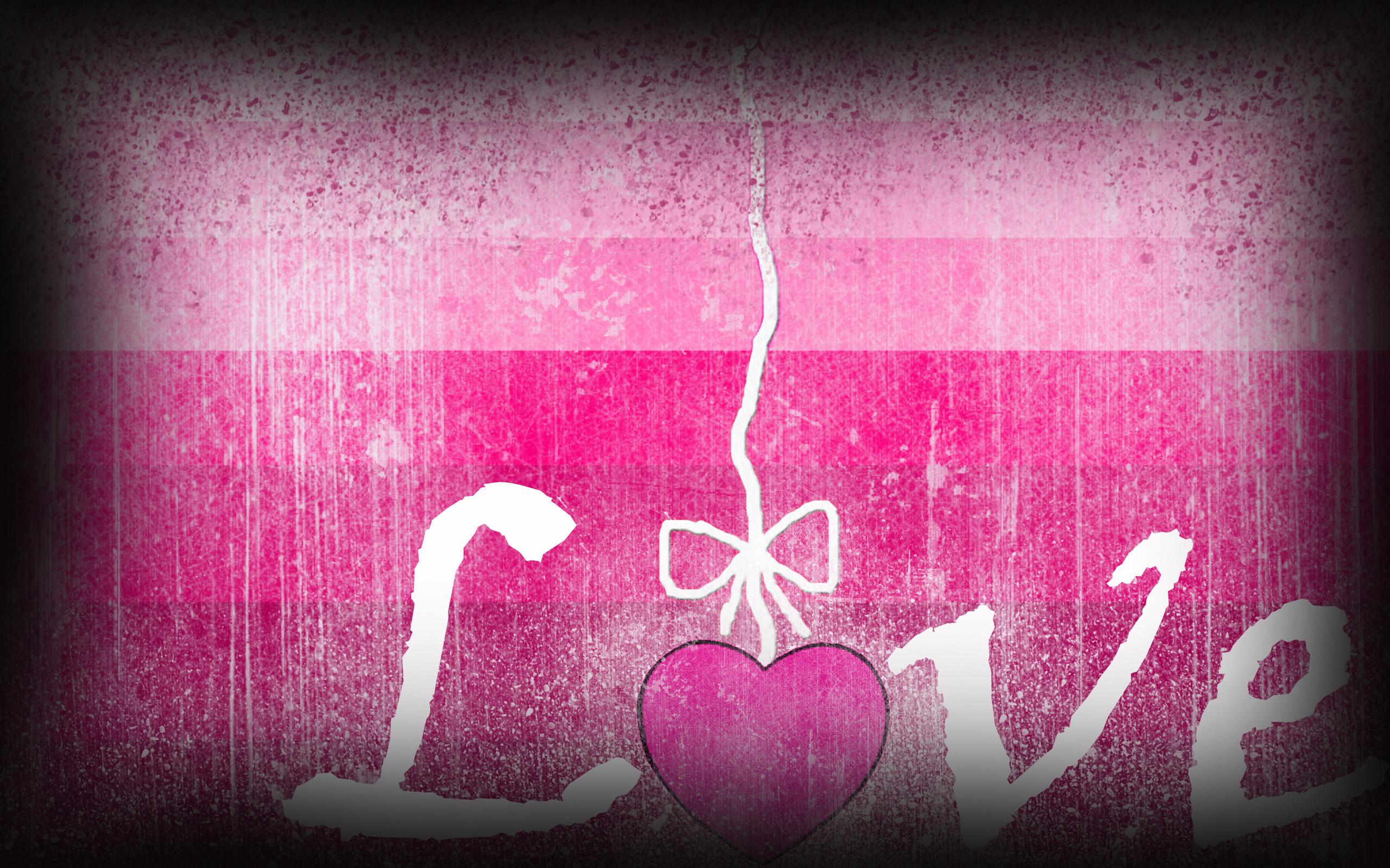Love Pink Wallpaper WallpaperSafari
