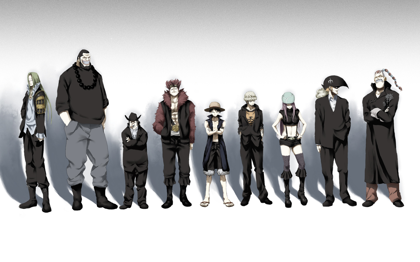 544 One Piece HD Wallpapers Backgrounds 1440x900