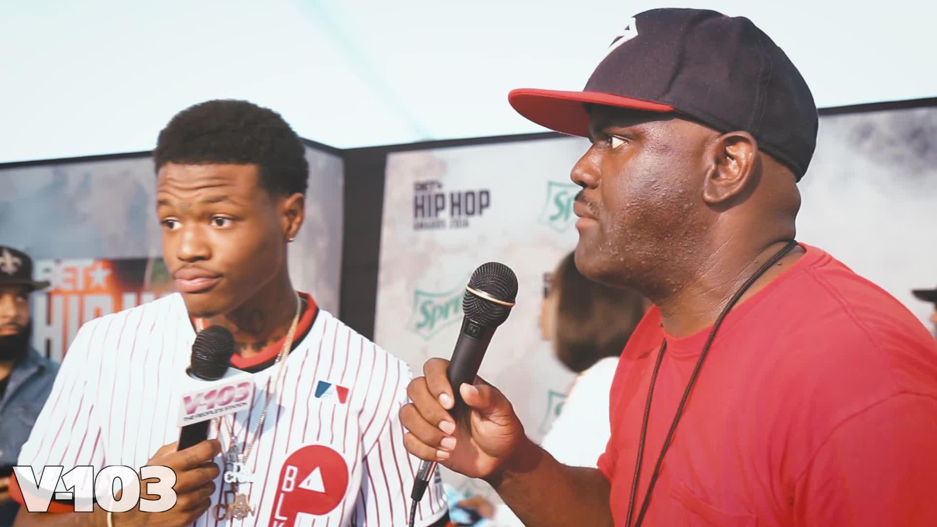 DC Young Fly w Greg Street 2016 BET Hip Hop Awards Green 1920x1080