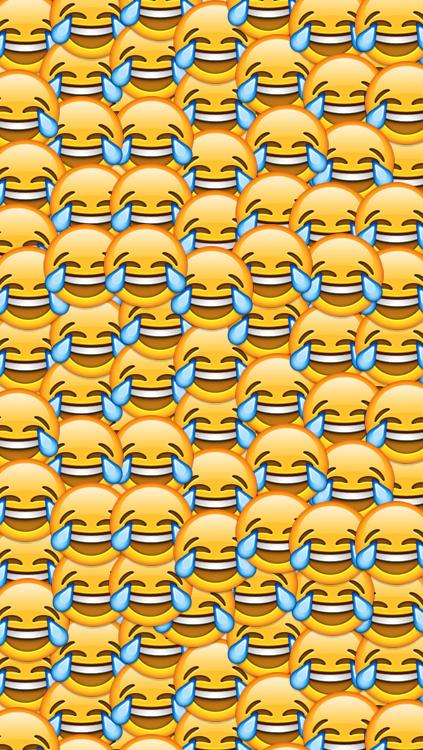 Emojis Wallpaper iPhone Icons - WallpaperSafari