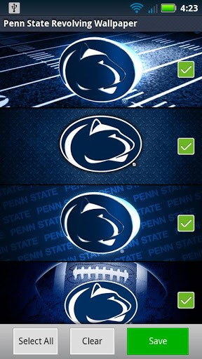 View bigger   Penn State Revolving Wallpaper for Android screenshot 288x512