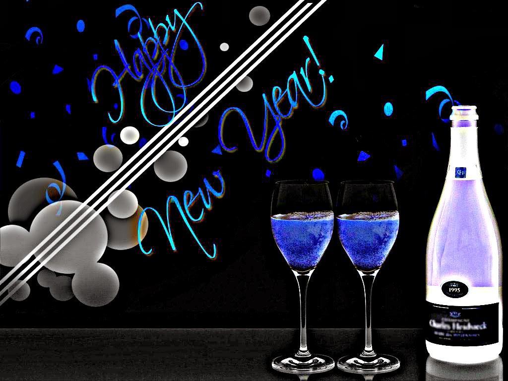 Celebration Happy New Year 2015 Desktop Background Wallpapers 1024x768
