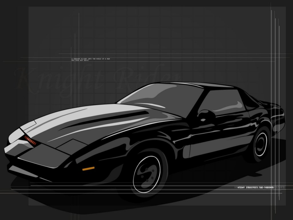 Knight Rider Car Wallpapers 1024x768