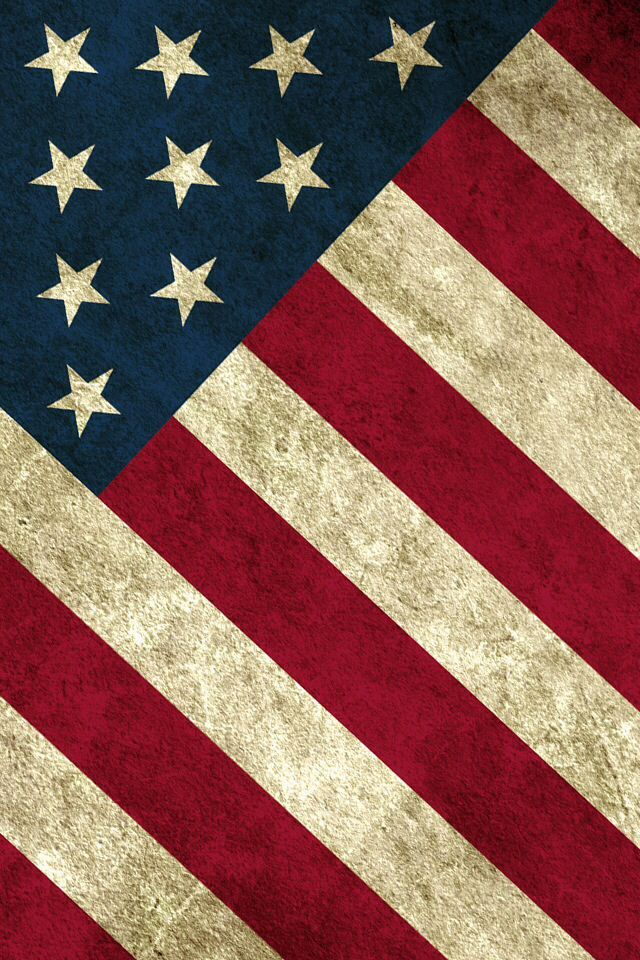 American Flag k Ultra HD Wallpaper and Background x America flag 640x960