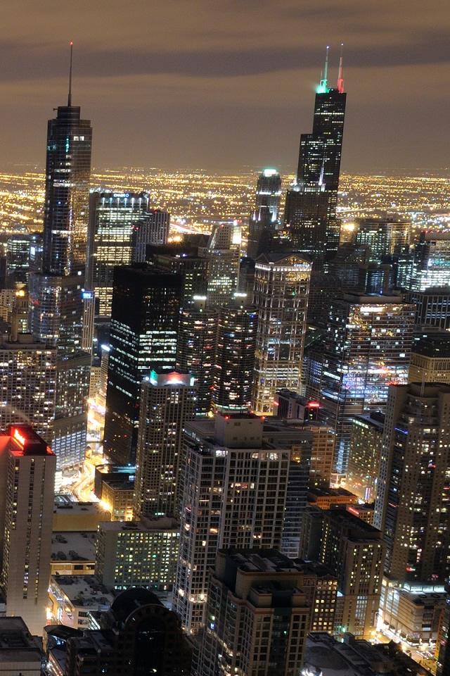 Chicago Iphone Wallpaper Wallpapersafari