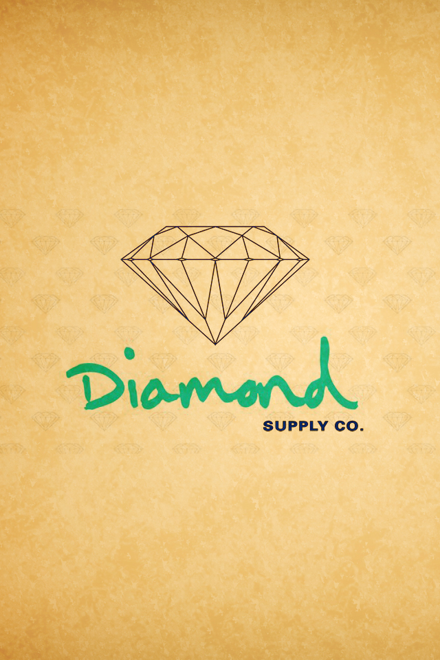 Diamond Supply Co 3Wallpapers Les 3 Wallpapers iPhone du jour 0606 640x960