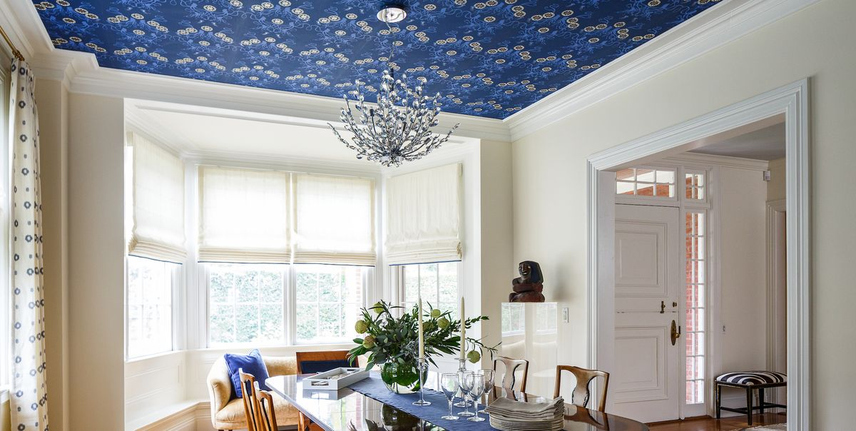 Best Wallpaper Ceiling Ideas   Ceilings with Wallpaper 1200x604