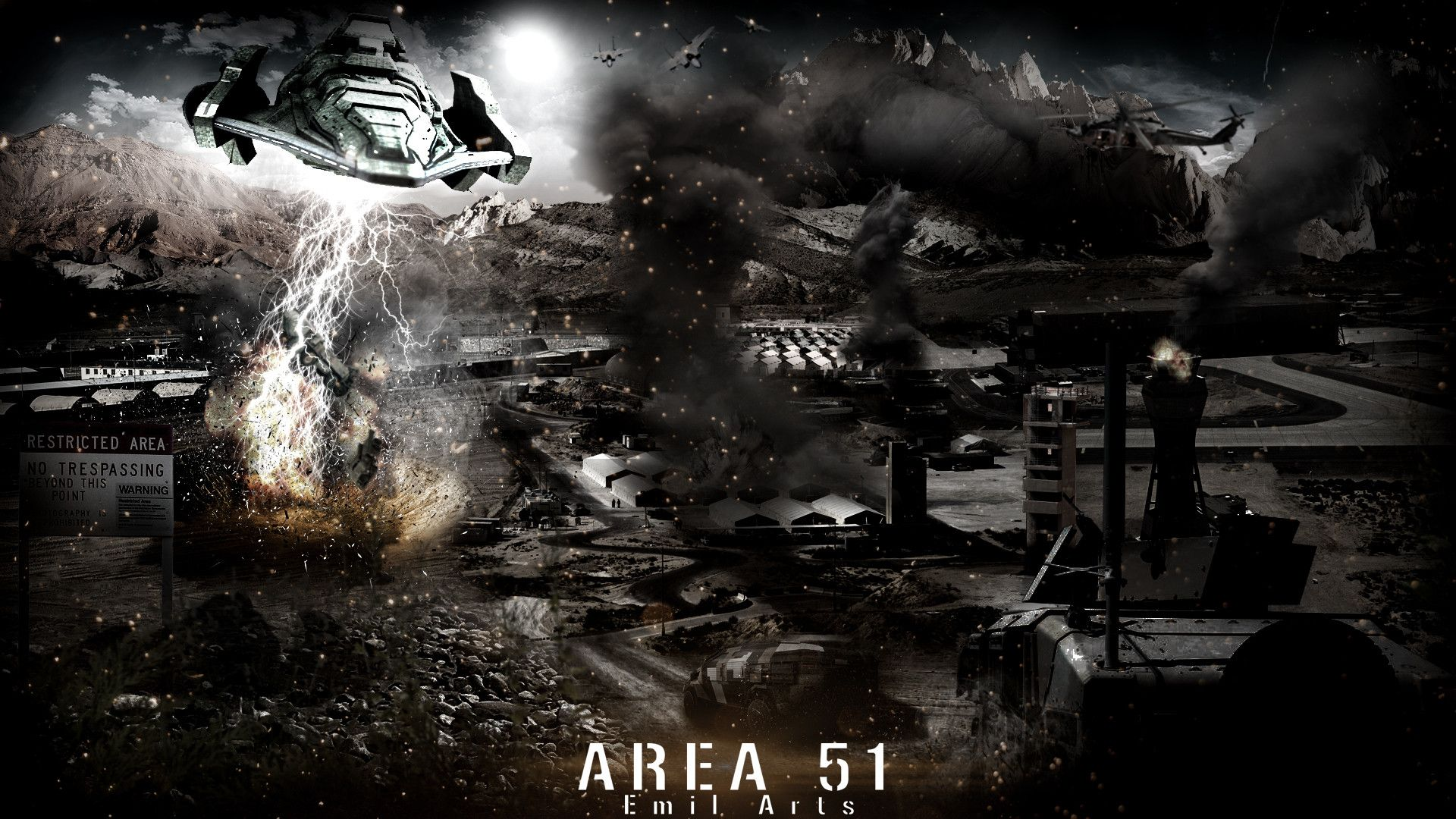 Area 51 Wallpaper - WallpaperSafari