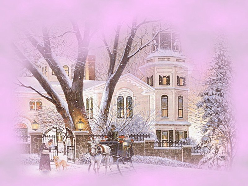Photo old time winter scene wp Newest Wallpaper album 800x600