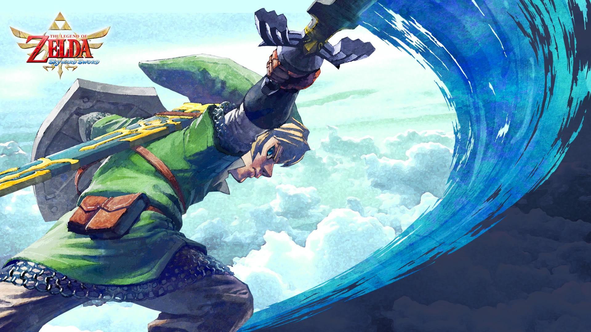 Legend Of Zelda Wallpaper 1920x1080: Zelda Skyward Sword Wallpaper