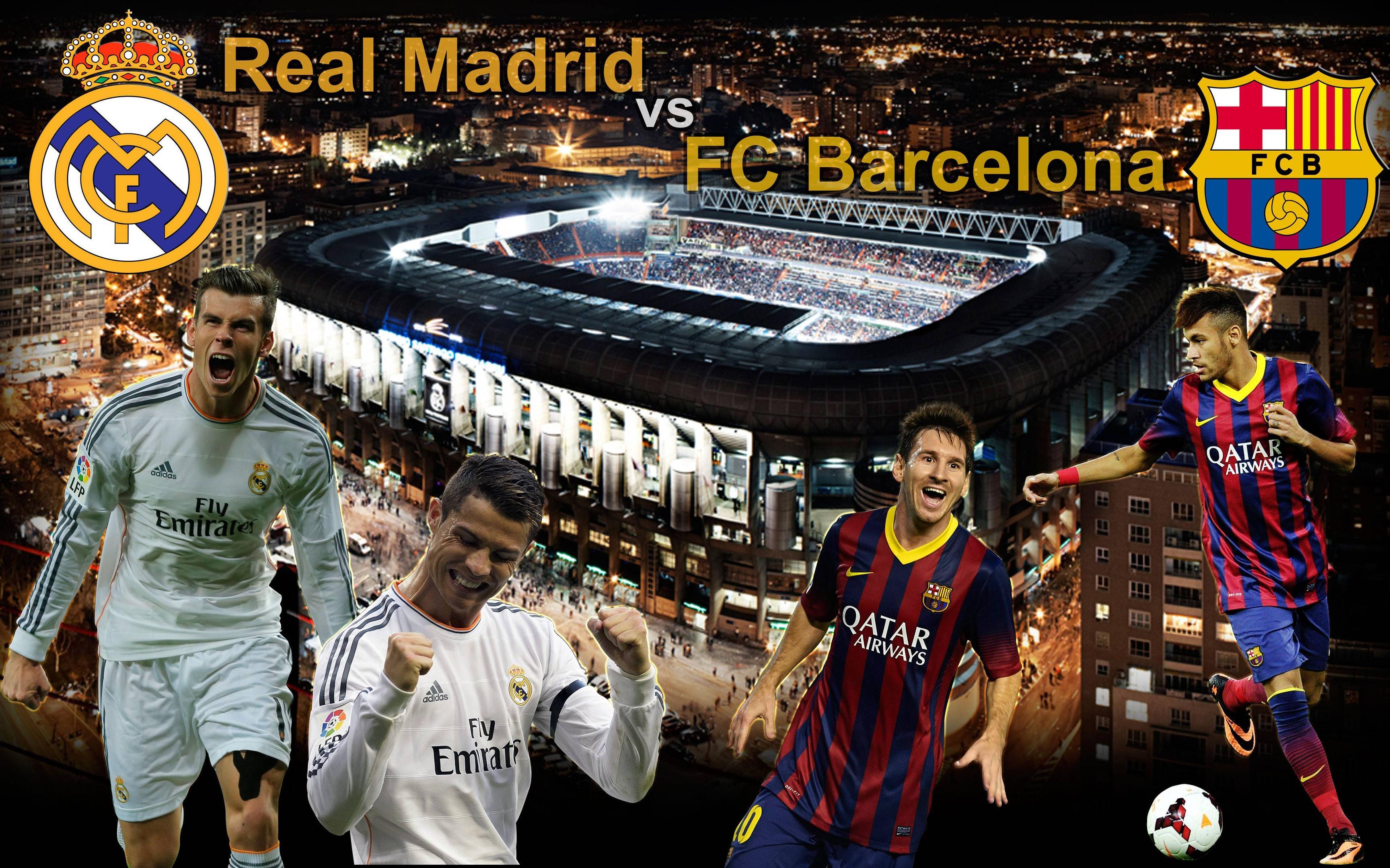 Ronaldo Vs Messi Wallpapers 2015 3456x2160