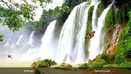 waterfalls waterfall live wallpaper is the best live wallpaper 512x291