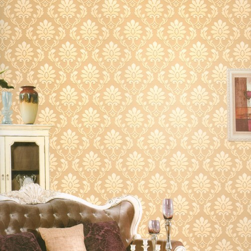 Discount  shipping new high quality non woven wall paper roll 501x500