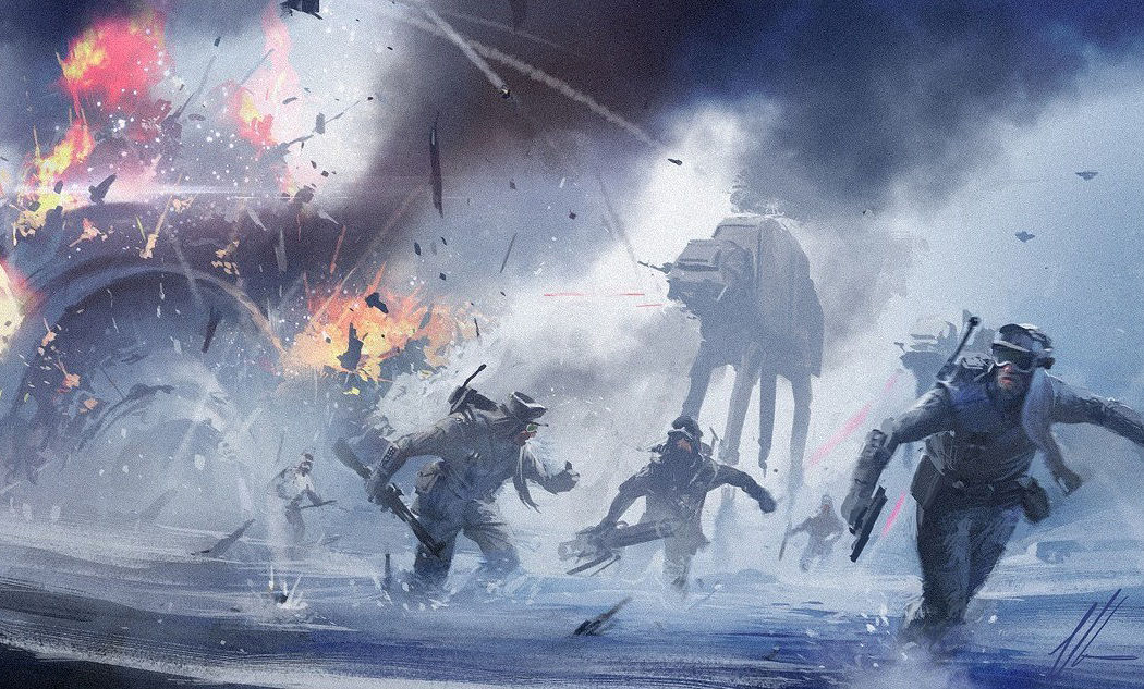 Star Wars Concept Art Wallpaper - WallpaperSafari