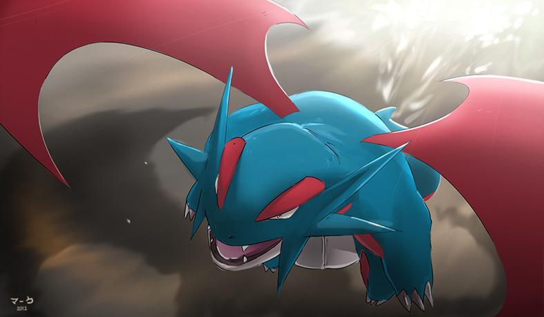Pokemon Salamence by mark331 787x459