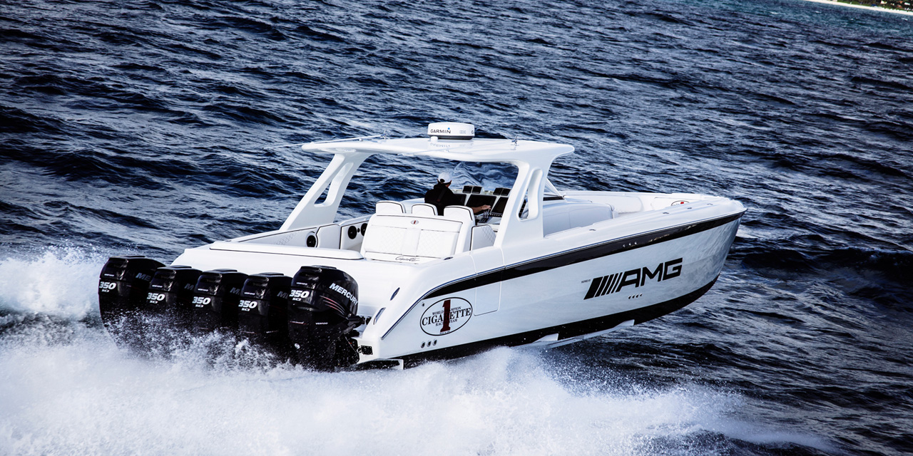 Hunter Cigarette Boat AMG 5   MBWorld 1280x640