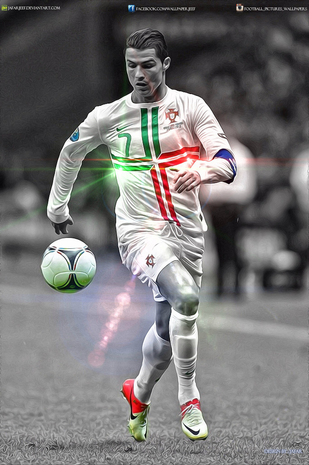 cr7 wallpaper by jafarjeef watch customization wallpaper people males 1024x1540