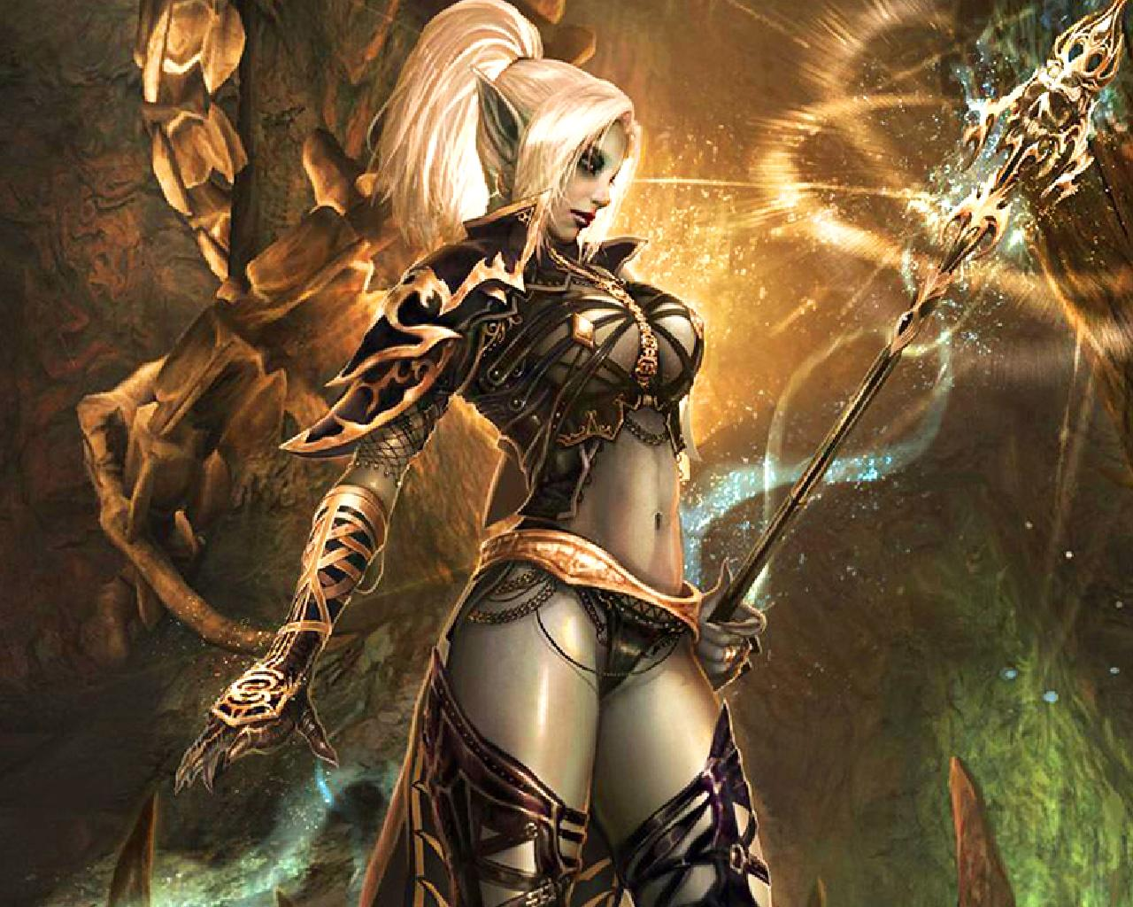 Dark Elf Witch wallpaper   ForWallpapercom 1280x1024