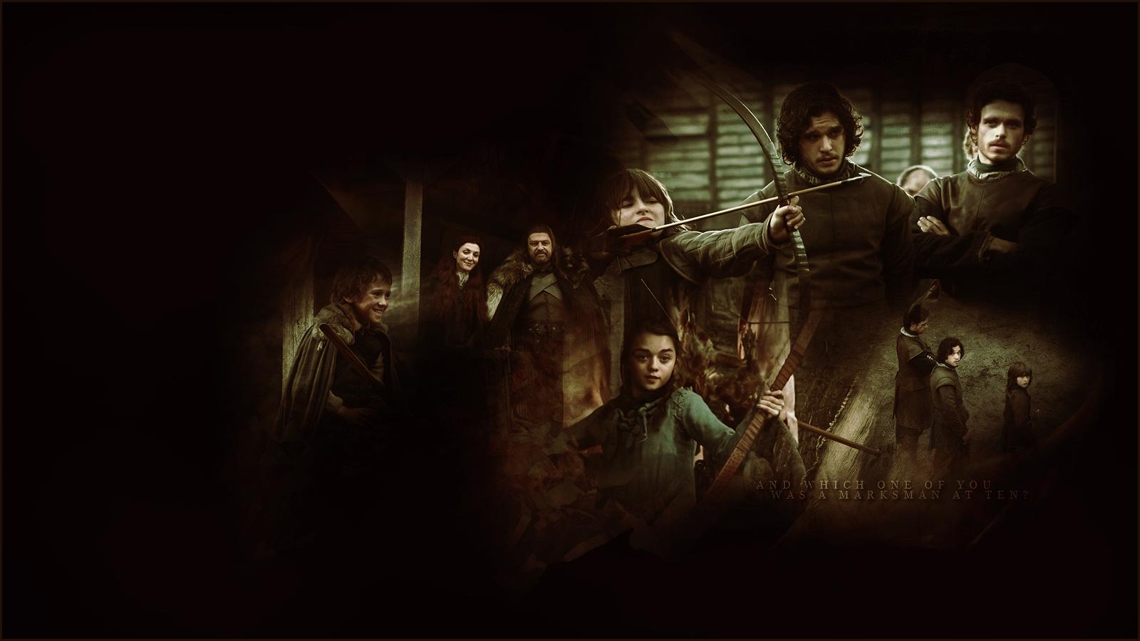 Game of Thrones Bilder House Stark Hintergrund Fotos 27629023 1600x900