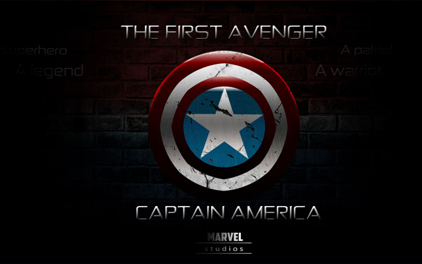 1440x900px Captain America Logo Wallpaper Wallpapersafari