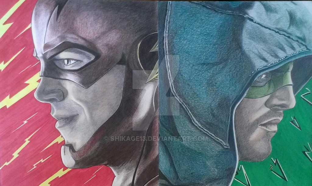 cw Arrow And Flash Wallpapers cw 39 s Arrow And Flash by 1024x611