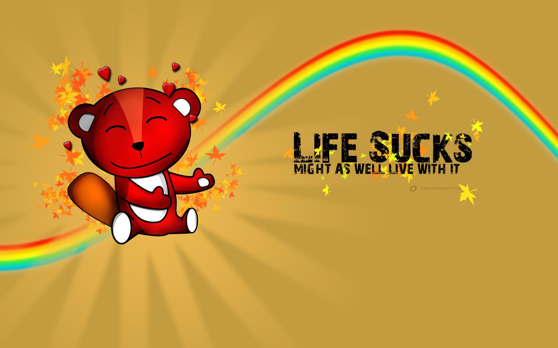 Download Life Sucks Wallpaper 1440x900 Wallpoper 387249 1440x900