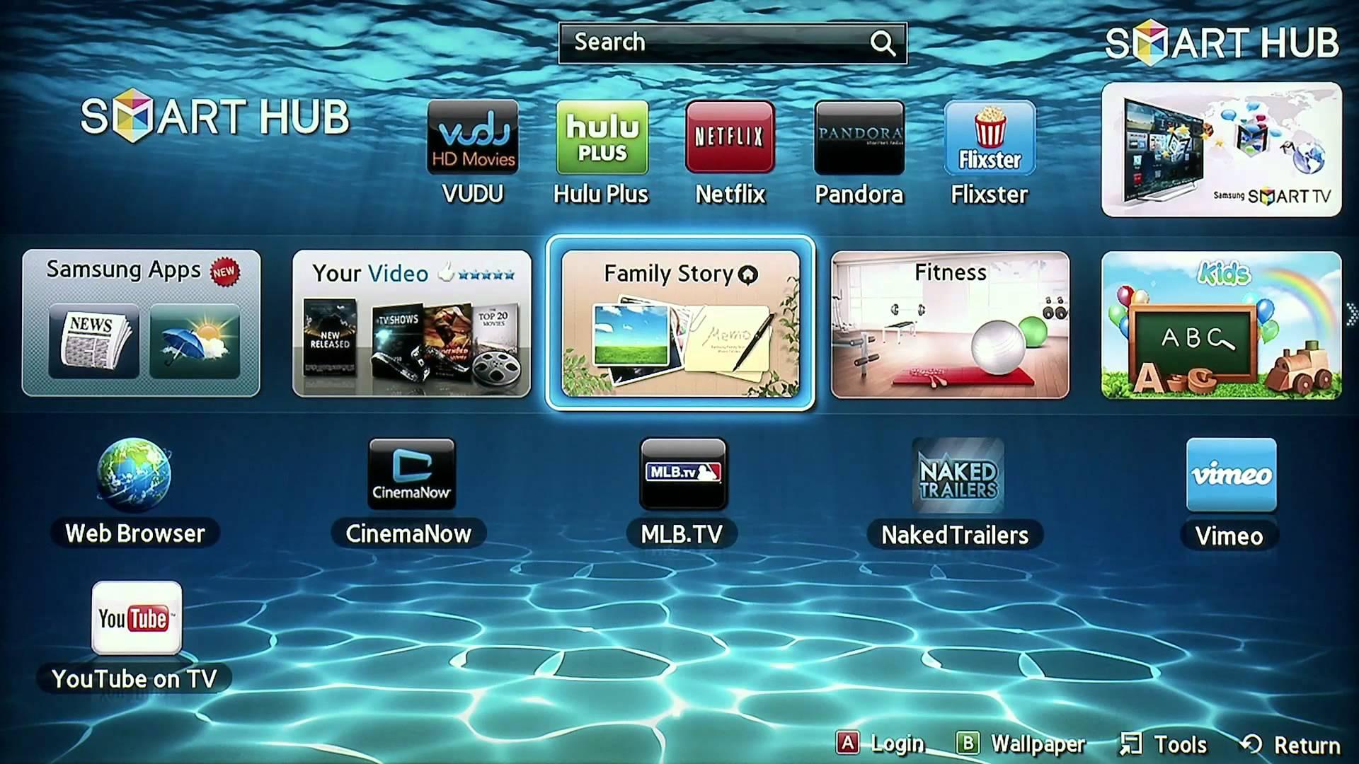 50 Samsung Smart Tv Wallpaper On Wallpapersafari