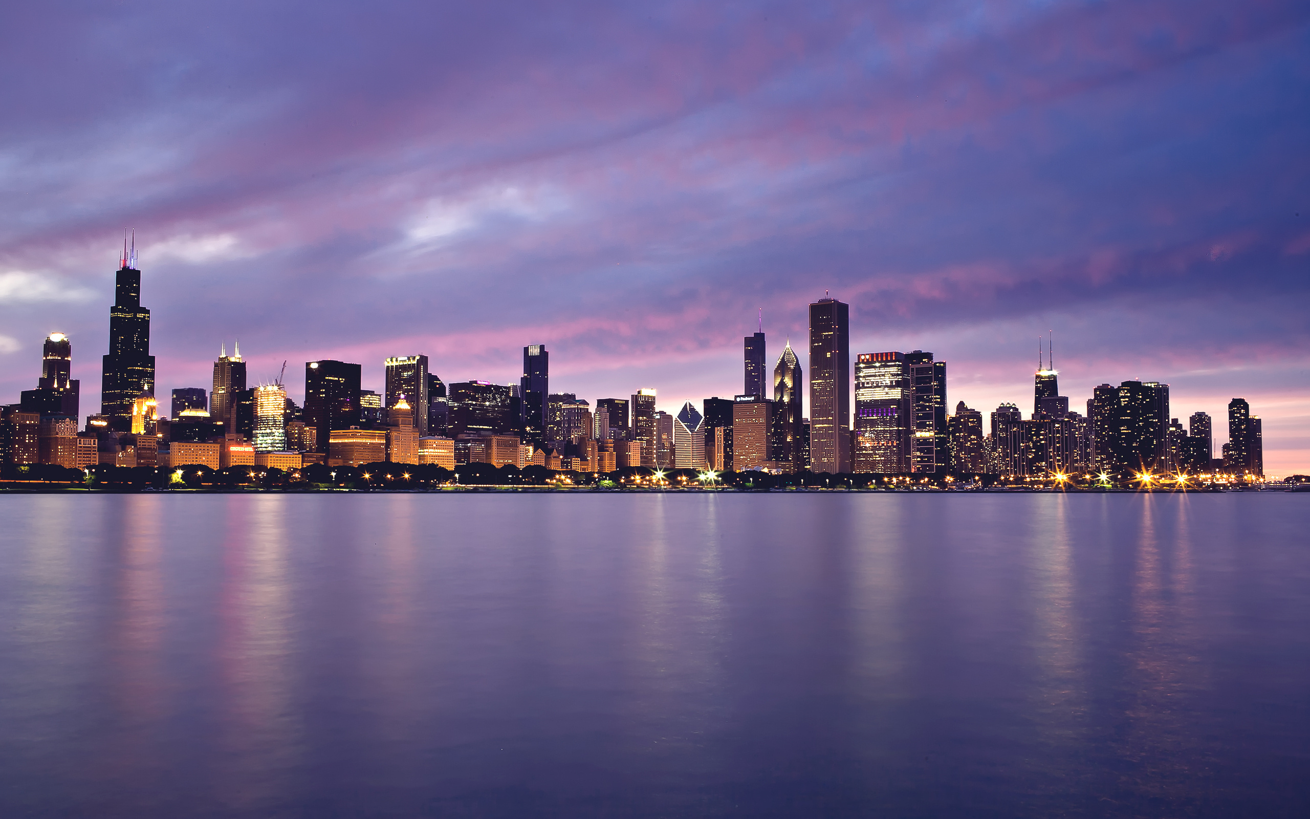 Beautiful Chicago Background wallpaper 2560x1600 21080 2560x1600
