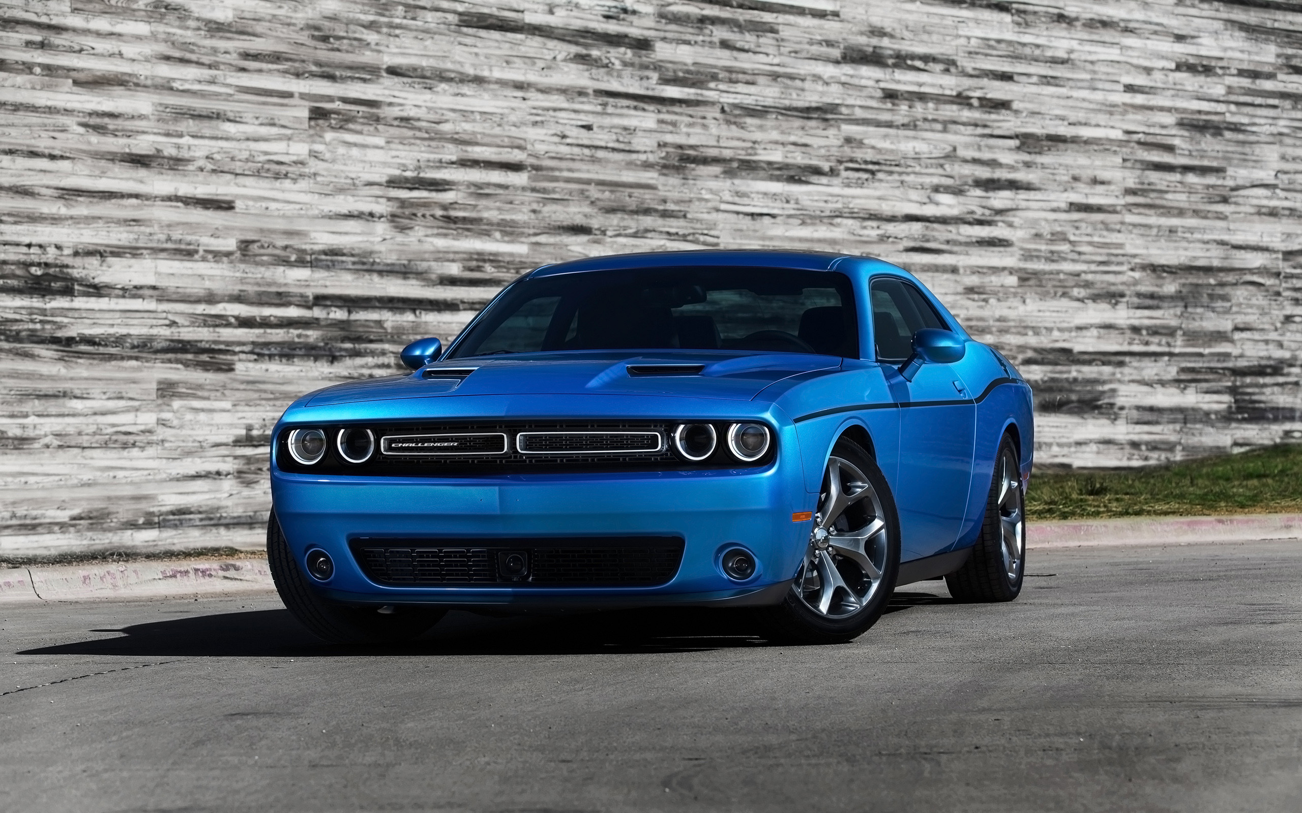 2015 Dodge Challenger Blue Wallpaper HD Car Wallpapers 2560x1600