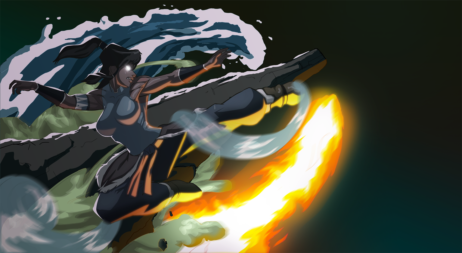 115 Avatar The Legend Of Korra HD Wallpapers Background Images 1535x841