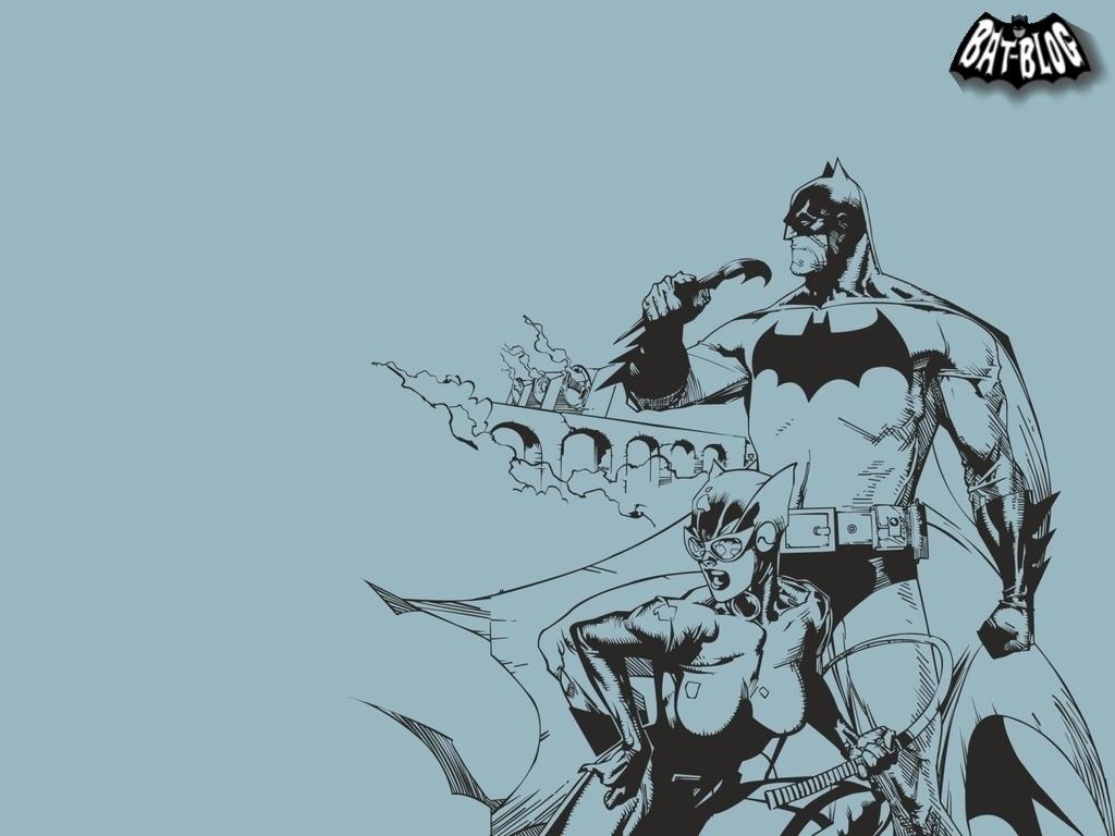 Batman and Catwoman   Batman Wallpaper 5889615 1024x768