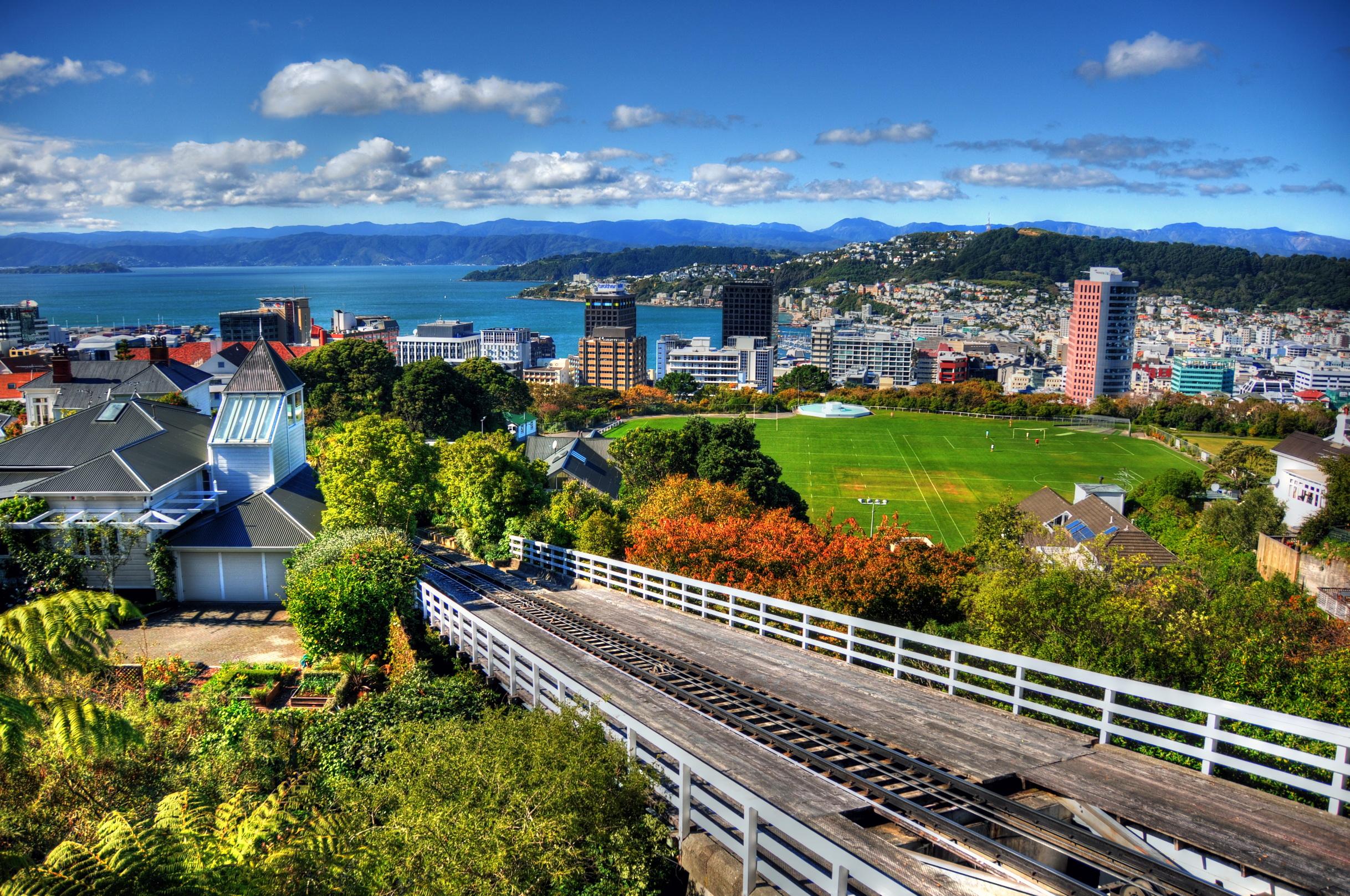 Picture New Zealand Wellington Cities 2436x1618 2436x1618