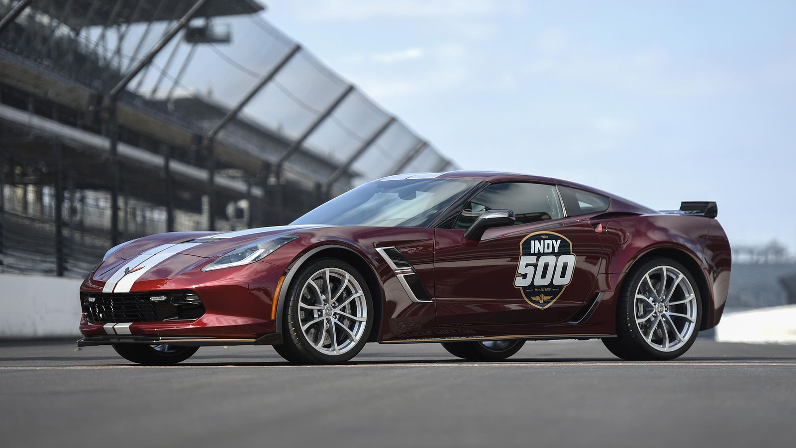 Chevrolet Corvette Grand Sport will pace the 2019 Indianapolis 500 1600x900