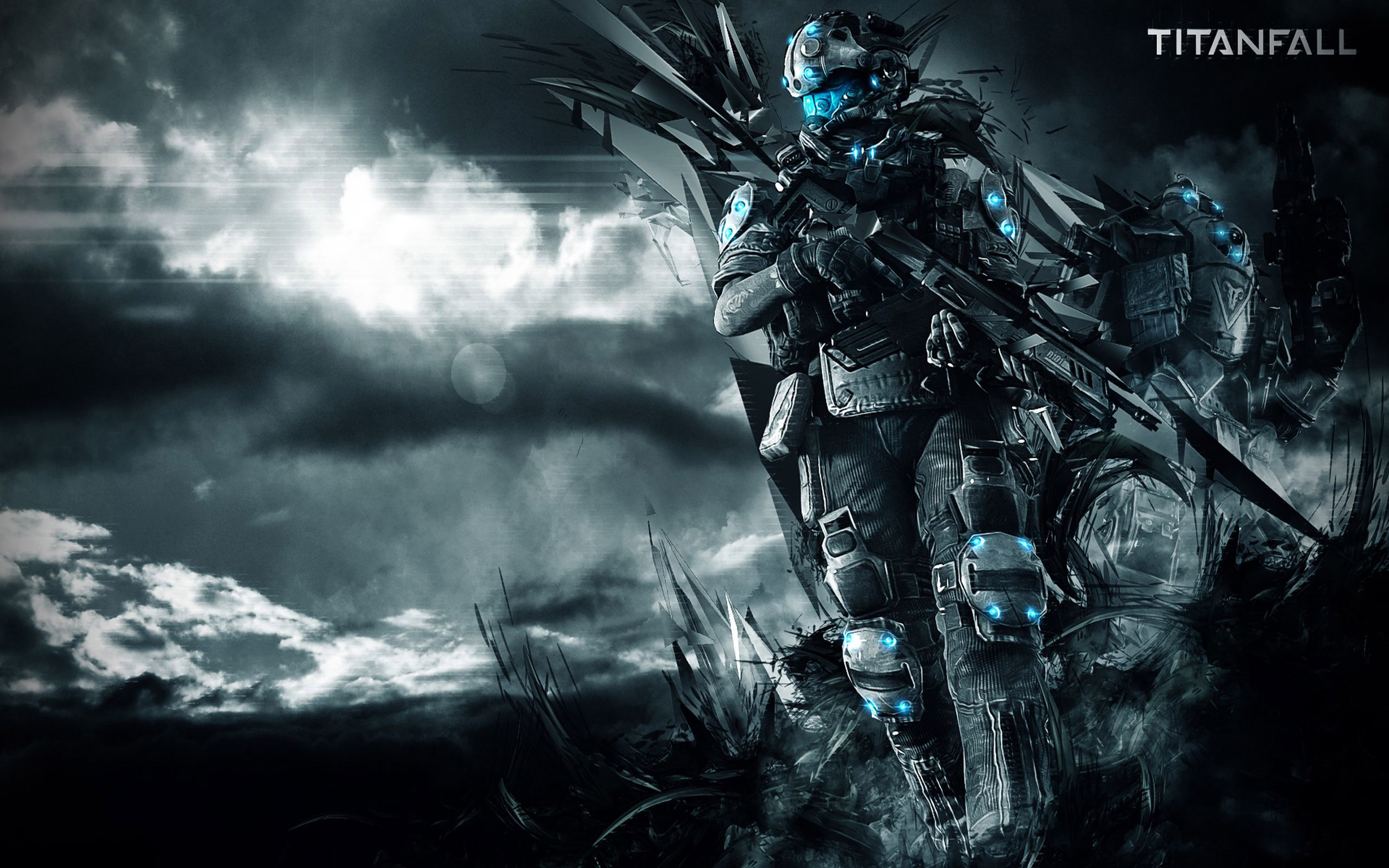 Titanfall Soldier Wallpaper in High Resolution at Games Wallpaper 2880x1800