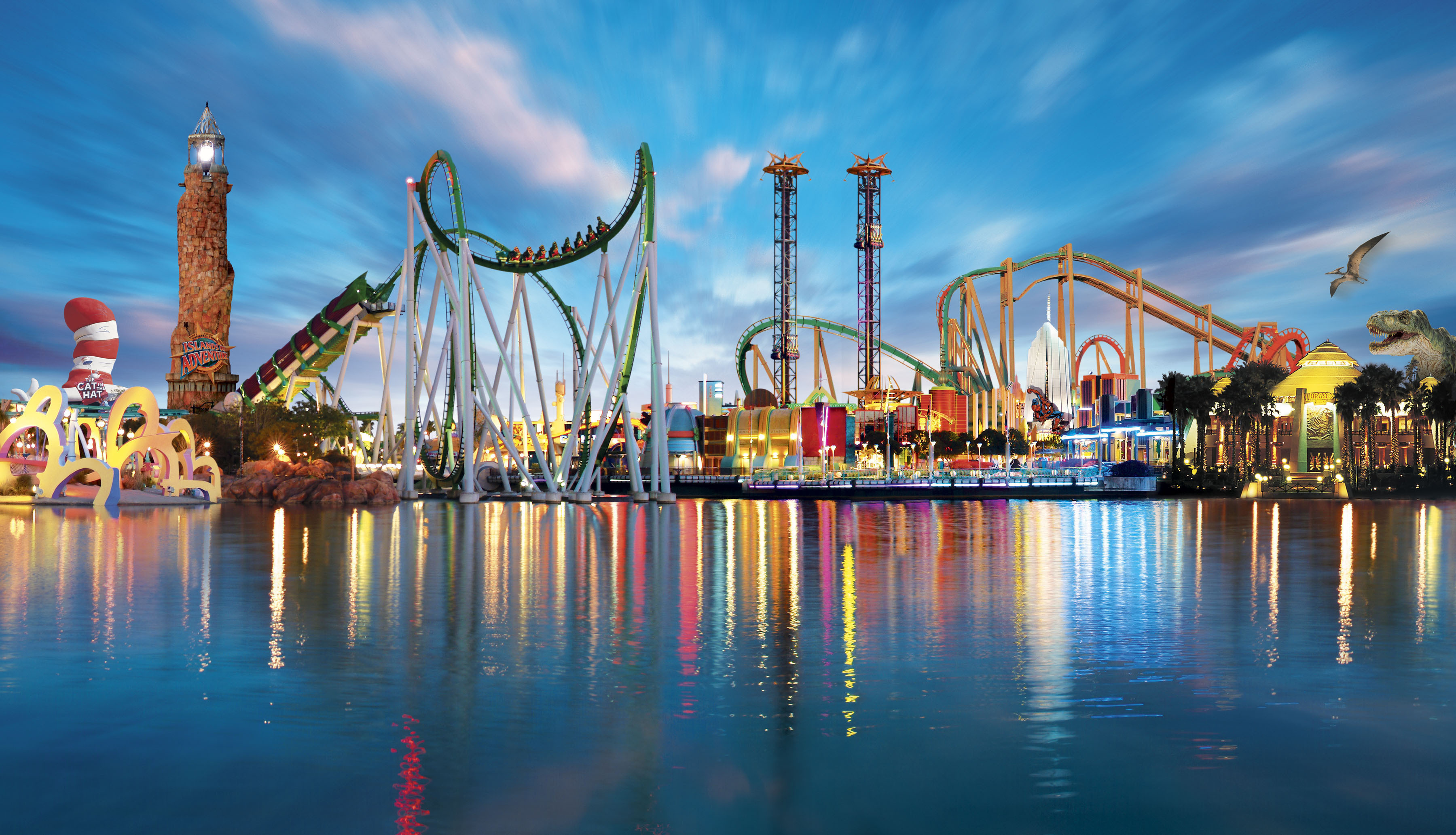55 Amusement Park HD Wallpapers Background Images 3600x2066