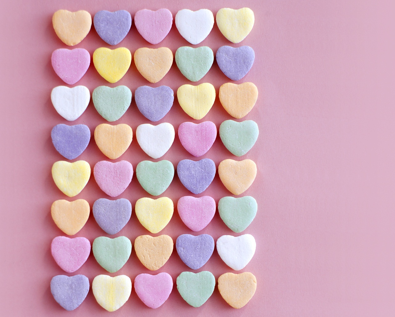 Pictures of candy heart messages